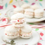 Candy Cane Macarons-2