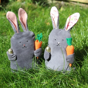 how to make your own toy bunny tutorial