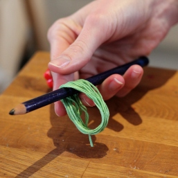 How to Make a Tassel Necklace - Step Three #jewellerymaking #jewellery #diy #tassels