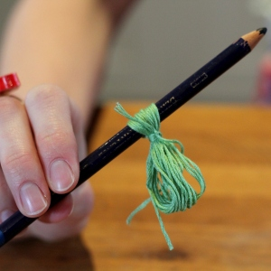 How to Make a Tassel Necklace - Step Four #jewellerymaking #jewellery #diy #tassels