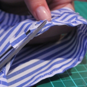 dress from shirt tutorial 11
