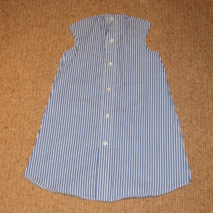 dress from shirt tutorial 4