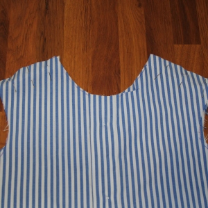 dress from shirt tutorial 5