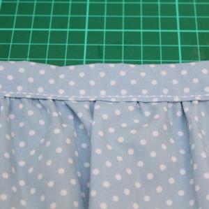 girl ruffle skirt tutorial 2