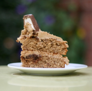 coffee and walnut whip cake