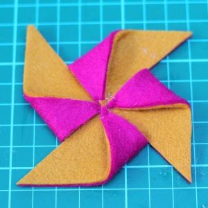 pinwheel hairclip tutorial 9