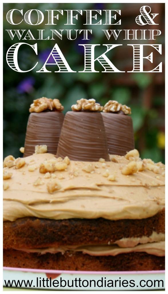 coffee walnut whip cake recipe
