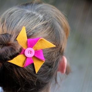 pinwheel hairclip tutorial 14