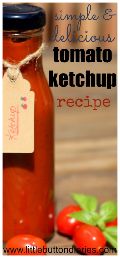tomato ketchup recipe a
