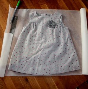 baby dress tutorial 1