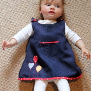 baby dress tutorial 31