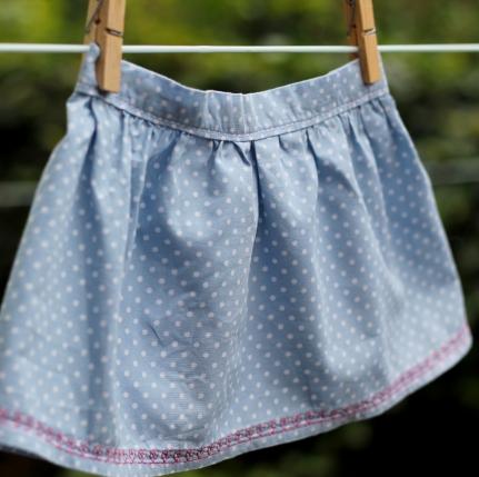girl ruffle skirt tutorial 19