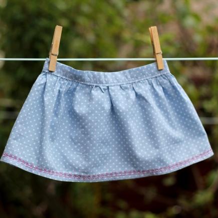 girl ruffle skirt tutorial 20