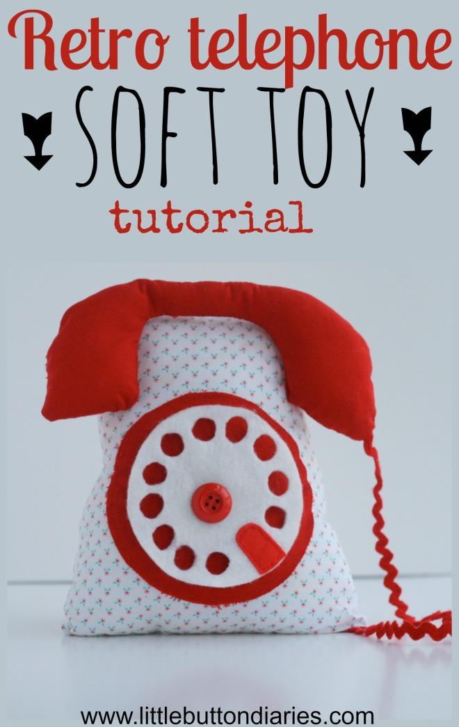 retro telephone toy tutorial