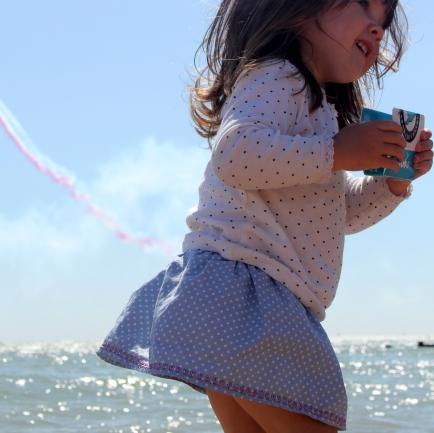 ruffle girls skirt tutorial 20
