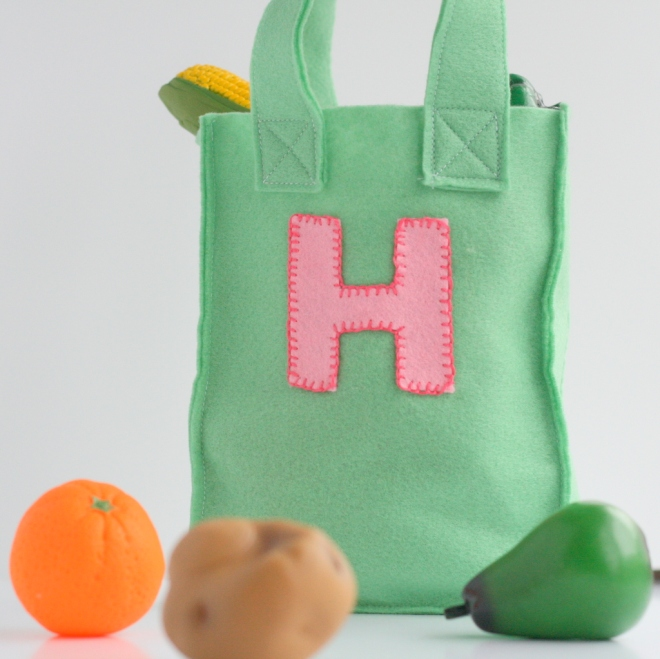 felt shopping bag tutorial