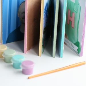 toddler board book DIY