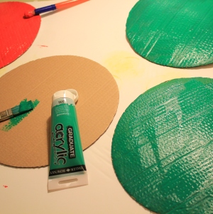 How to Make a Very Hungry Caterpillar #KidsMaking #LittleButtonDiaries