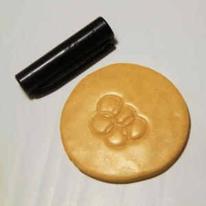 fimo medal tutorial