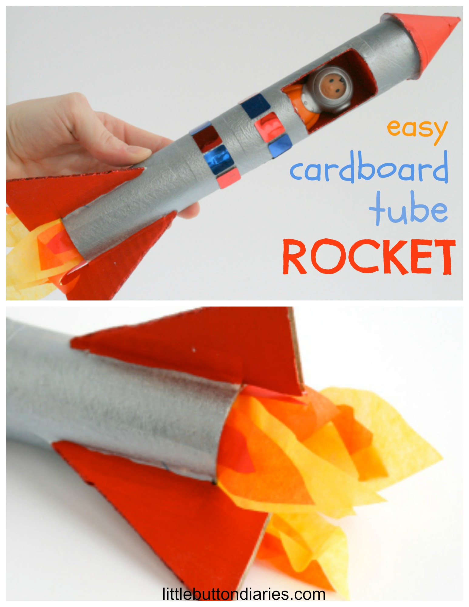 Kids Project Cardboard Tube