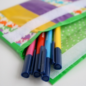 duct tape pencil case