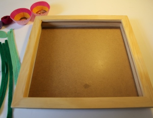 How to Make a Mother's Day Flower Photo Frame #MothersDay #KidsCraft