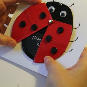 4 Easy Mother's Day Card Ideas #Mothersday #CardMaking #Papercraft #KidsCraft #Ladybird