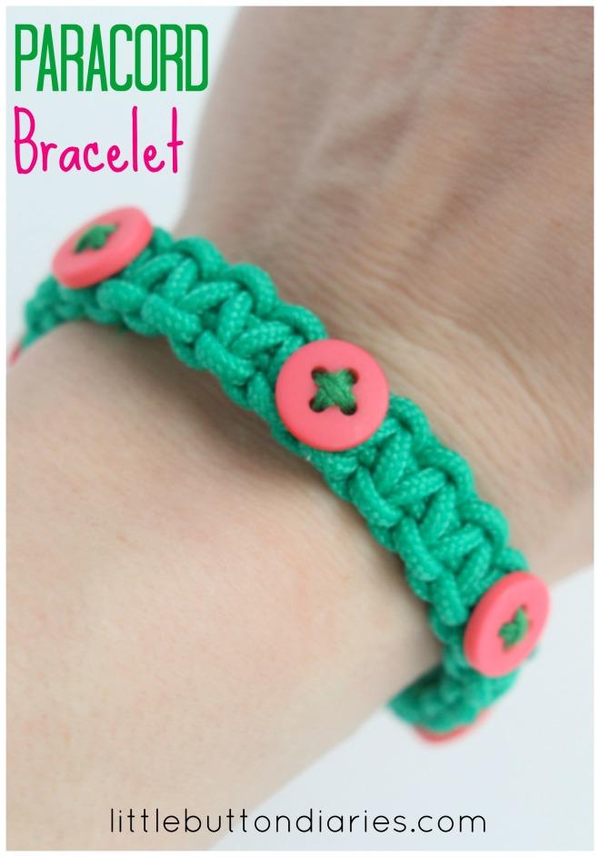 PARACORD bracelet tutorial