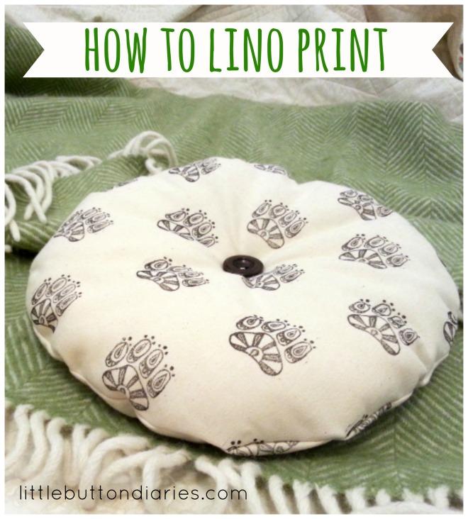 how to lino print