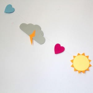 paperchase weather garland 6