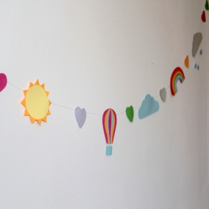 paperchase weather garland 7