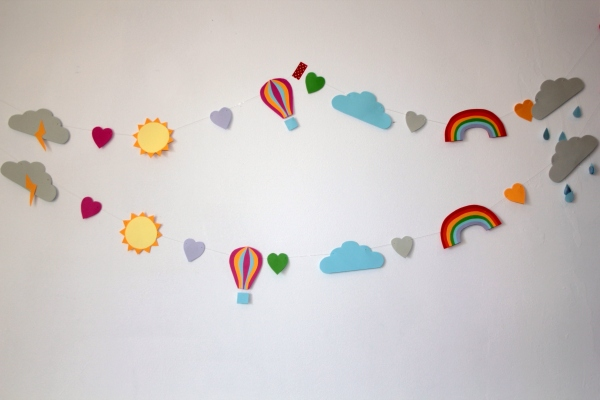 paperchase weather garland 8