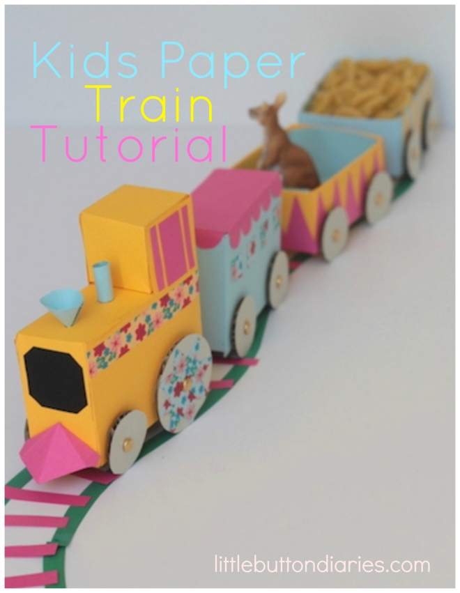paper chase paper train tutorial